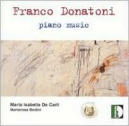 Franco Donatoni: Piano Music
