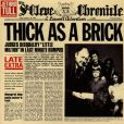 CD Cover Image. Title: Thick As A Brick (Jethro Tull)