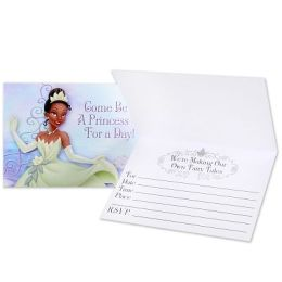 Hallmark 159528 Princess and the Frog Invitations- 8 count