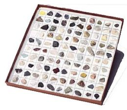 Hubbard Scientific 2035-S Rocks and Minerals of U.S. Basic Coll. 35 pcs.