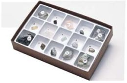 Hubbard Scientific 2305 Natural Crystal Collection