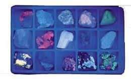 Hubbard Scientific 2384 Fluorescent Minerals Long Wave Collection