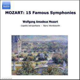 Mozart: 15 Famous Symphonies (Box Set)