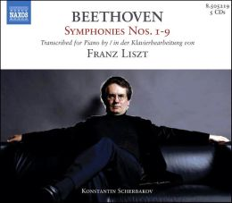 Beethoven Symphonies Nos. 1-9 Transcribed by Liszt [Box Set]