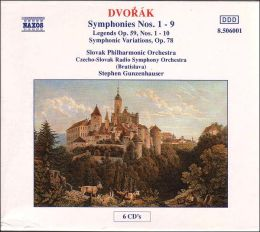 Dvorák: Symphonies Nos. 1-9; Legends, Op. 59; Symphonic Variations, Op. 78