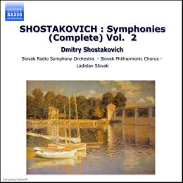 Shostakovich: Symphonies (Complete), Vol. 2 (Box Set)
