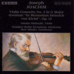 Violin Concerto No 3 (Joachim)