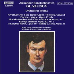 Glazunov: Orchestral Works