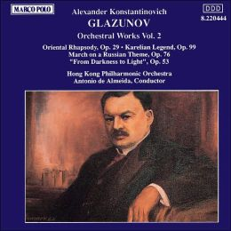 Glazunov: Orchestra Works, Vol.2