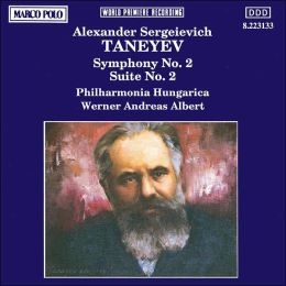 A.S. Taneyev: Symphony No. 2/Suite No. 2