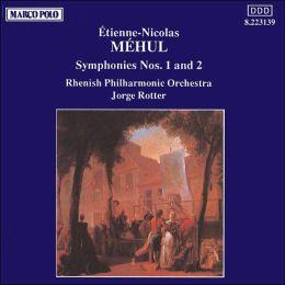 Mehul: Symphony Nos.1 & 2