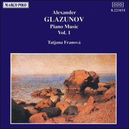 Glazunov: Piano Music, Vol.1