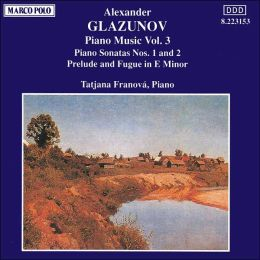 Glazunov: Piano Music, Vol. 3