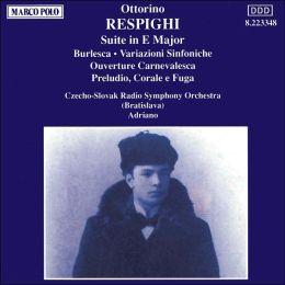 Respighi: Symphonic Variations, etc.