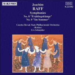 Joachim Raff: Symphonies Nos. 8