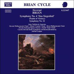 Brian: Symphony No. 4 'Das Siegeslied'; Symphony No. 12