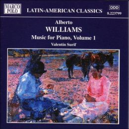 Williams: Music for Piano, Vol. 1
