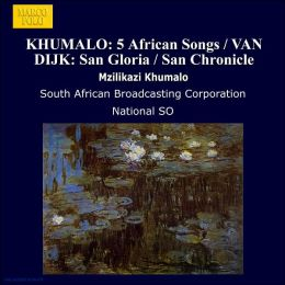 Five African Songs; San Gloria; Three Nigerian Dances; San Chronicle