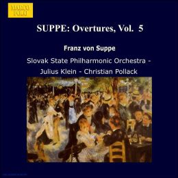 Suppé: Overtures Vol. 5