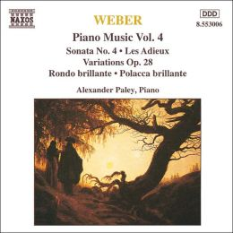 Weber: Piano Music, Vol. 4