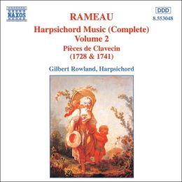 Rameau: Harpsichord Music (Complete), Vol. 2