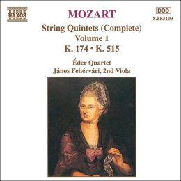 Mozart: String Quintets (Complete), Vol. 1
