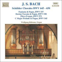 Bach: Schübler Chorales, BWV 645-650