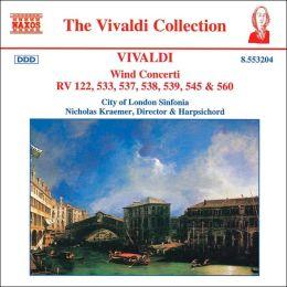 Vivaldio: Wind Concerti