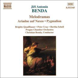 Benda Melodramas: Ariadne auf Naxos & Pygmalion