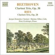 Beethoven, Ries: Clarinet Trios