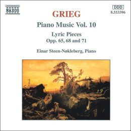 Grieg: Piano Music, Vol. 10