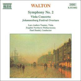 Walton: Symphony No. 2; Viola Concerto; Johannesburg Festival Overture