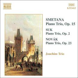 Smetana, Suk, Novak: Piano Trios