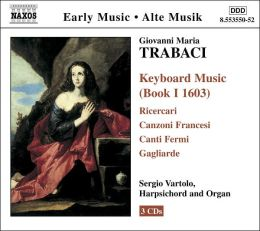 Giovanni Maria Trabaci: Keyboard Music (Book I, 1603)