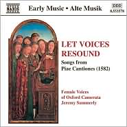 Let Voices Resound: Songs from Piae Cantiones (1582)