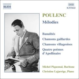 Poulenc: Songs