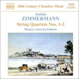 Zimmermann: String Quartets Nos. 1-3