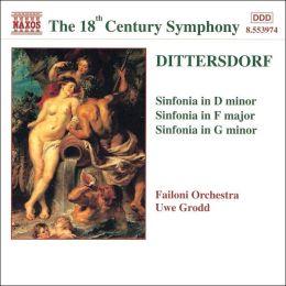 Karl Ditters von Dittersdorf: Sinfonias