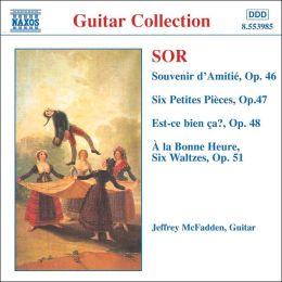 Sor: Souvenir D'Amitie, Fantasie Op. 46