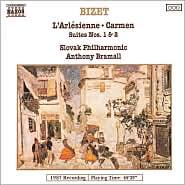 Bizet: L'Arlésienne; Carmen Suites Nos. 1 & 2