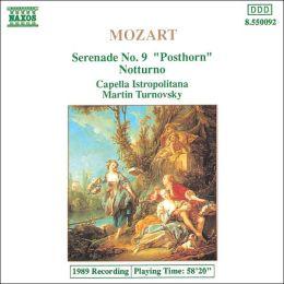 Mozart: Serenade No. 9