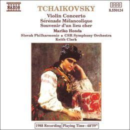 Tchaikovsky: Violin Concerto; Serenade Melancolique; Souvenir d'un lieu cher