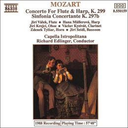Mozart: Concerto for Flute & Harp, K299; Sinfonia Concertante, K297b