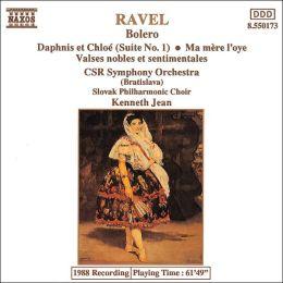 Ravel: Boléro; Daphnis et Chloé; Ma Mère l'oye; Valses nobles et sentimentales