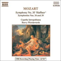 Mozart: Symphonies Nos. 34, 35 & 39