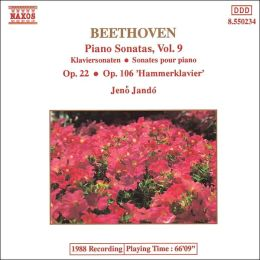 Beethoven: Piano Sonatas, Vol. 9