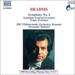 Brahms: Symphony No. 4, Overtures