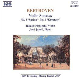 Beethoven: Violin Sonatas Nos. 5