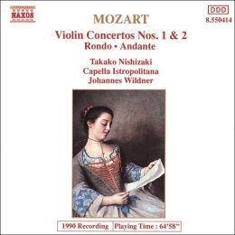 Mozart: Violin Concertos Nos. 1 & 2; Rondo, K211; Andante, K269