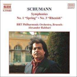 Symphonies 1 & 3 (Schumann / Rahbari / Brt Philharmonic)